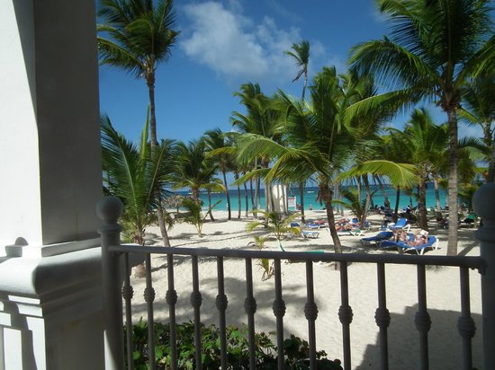 Riu Palace Punta Cana:                   Taken from the snack bar.
