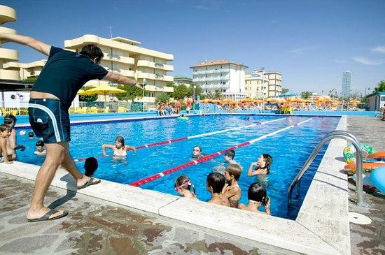 Hotel Executive:                   The kids could take swimming lessons here!