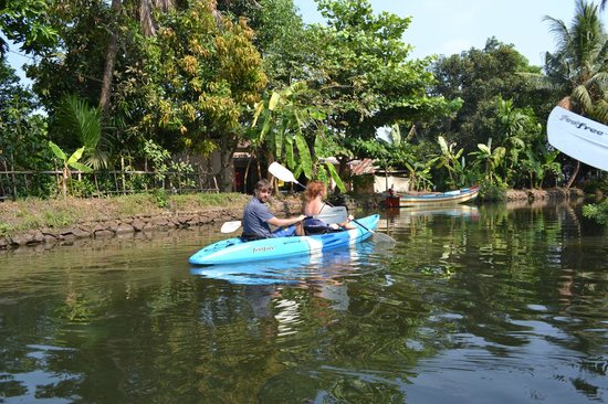 Kerala Kayaking:                   kayaking