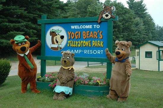 Ashland, NH: Welcome to Yogi Bear's Jellystone Park!
