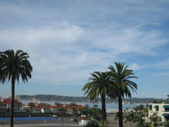 Coronado Beach Resort:                   View from 3rd floor deck