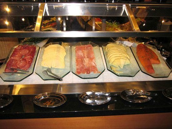 Salad Bar Picture Of Fogo De Chao Boston Tripadvisor
