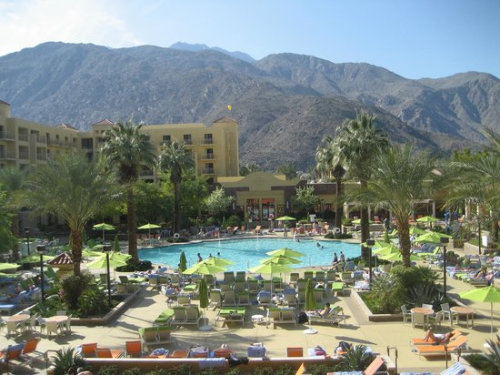 Renaissance Palm Springs Hotel:                   View from the Room