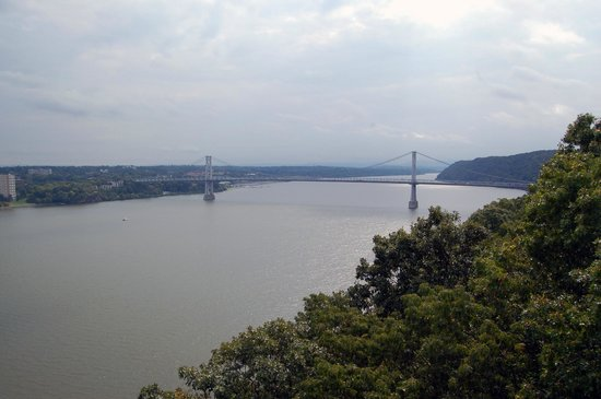 Poughkeepsie, Nowy Jork:                   View from the bridge