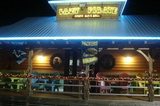 Drifters Reef Motel: Lazy Pirate Restaurant