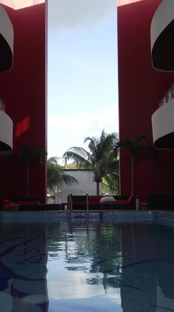 In Fashion Hotel Boutique:                   Pool view