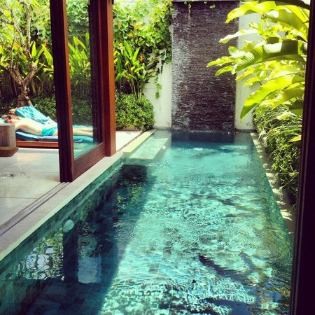 Maca Villas & Spa:                   view from bed