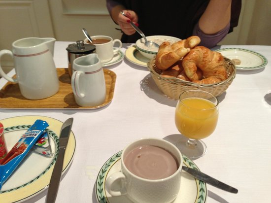 Bernina Swiss Quality Hotel:                   breakfast in the morning