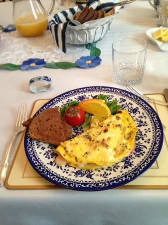 Ottawa Centre Bed &amp; Breakfast:                   Wonderful Omlet