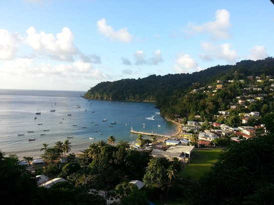 Charlotteville, Tobago:                   You could never get bored of this view!