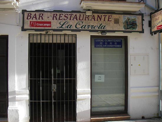 Hostal Virgen del Rocio:                   Entré Restaurang/ Bar