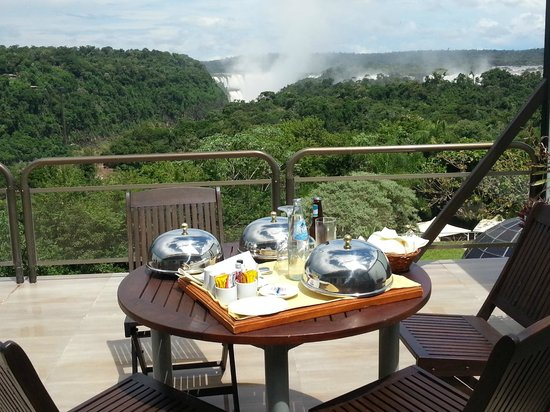 Sheraton Iguazu Resort & Spa:                   Lunch on our hotel room deck