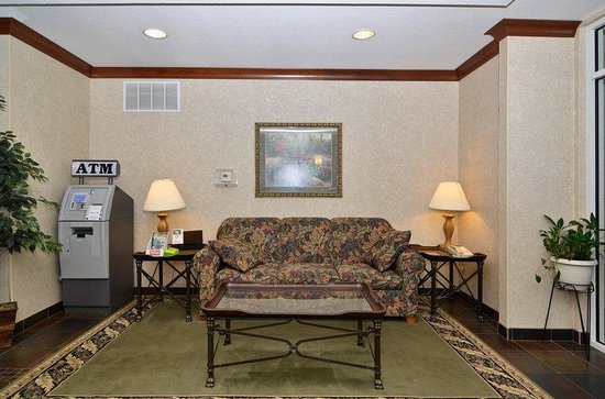 BEST WESTERN PLUS Sparta Trail Lodge: Lobby