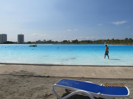 Hotel Playa Blanca Beach Resort:                   The big pool over by the Town Centre