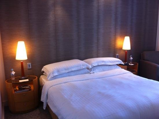 Hyatt Regency Perth: The bed was especially comfortable!
