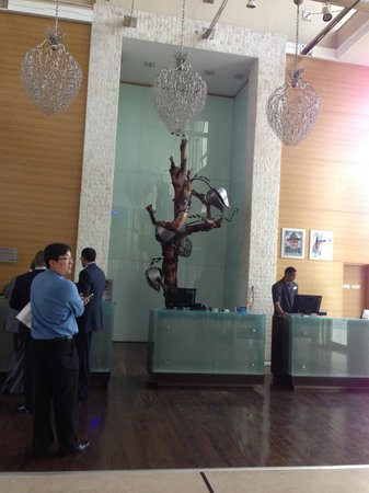 Radisson Blu Anchorage Hotel, Lagos:                   Lobby