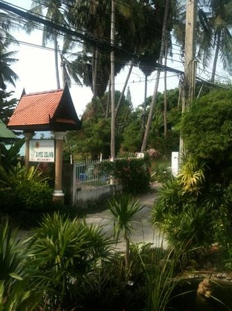 Samui Island Beach Resort and Hotel:                                     entry to hotel