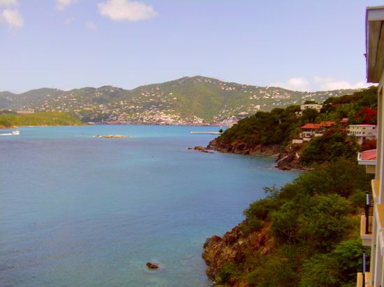 Marriott's Frenchman's Cove:                                     A view from Tortola Building (#3)