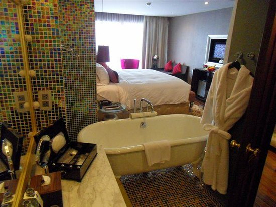 Hotel de l'Opera Hanoi - MGallery Collection:                   from bathroom out to bed room
