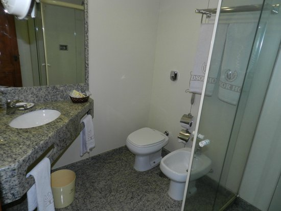 Windsor Guanabara Hotel:                   bathroom