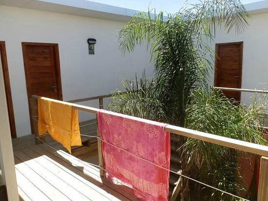 Beach Hostel La Balconada:                   out of the room