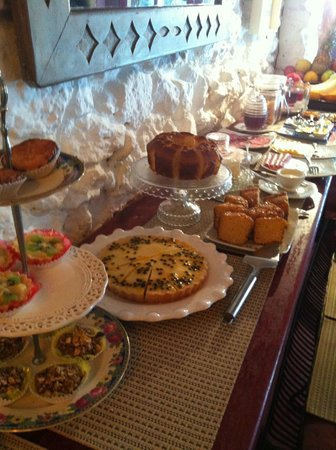 Pousada Arte Urquijo:                   Breakfast buffet