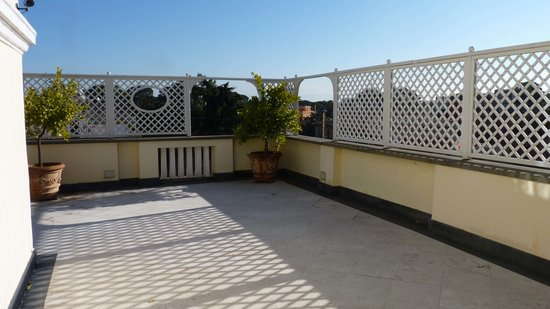 Hotel Villa Duse: terrasse