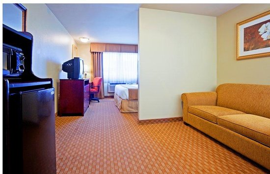 Holiday Inn Express Wisconsin Dells: Our king Executive bedroom has plenty of space to relax or work!