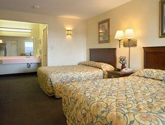 Super 8 Motel Fredricksburg South: Standard Two Queen Bed Room