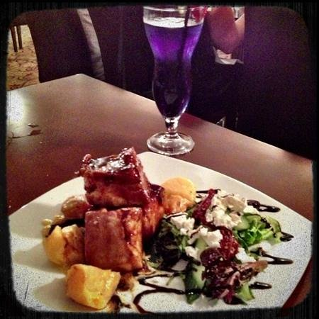 Muswellbrook, Australien:                   Twice cooked, glazed Pork belly