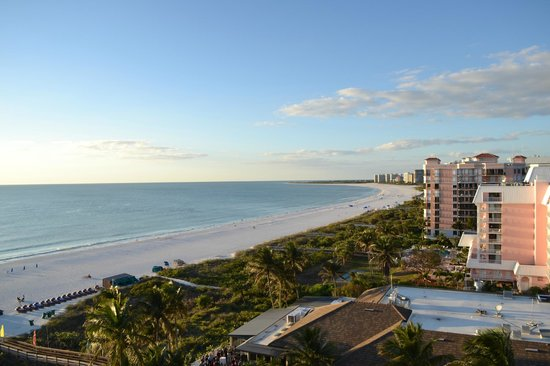 Hilton Marco Island Beach Resort:                   Twilight Beach View