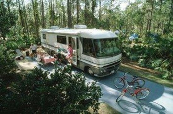 The Campsites at Disney's Fort Wilderness Resort