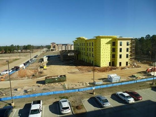 Texarkana, AR:                   New hotel from window