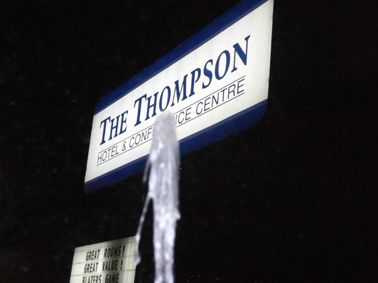 The Thompson Hotel and Conference Centre:                                     room view