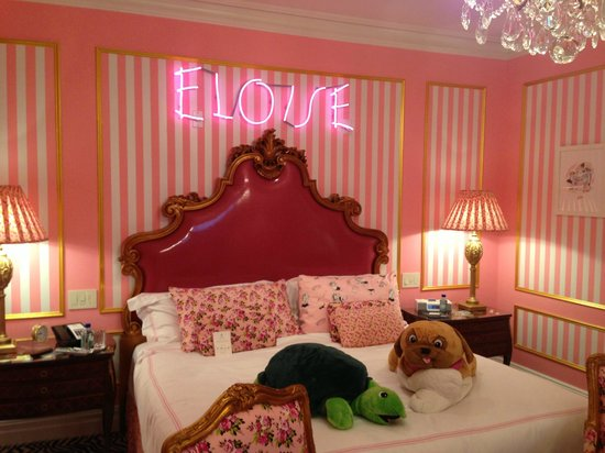 The Plaza Hotel:                   Eloise Suite