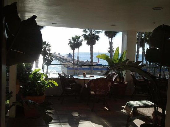 Casa Tropicana Inn:                   Great view of the Pacific & Fisherman's restaurant.