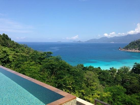 Four Seasons Resort Seychelles:                   vista desde la Villa