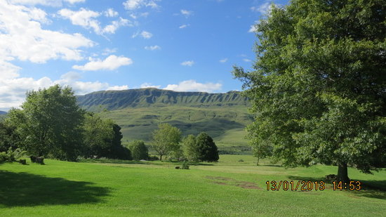 uKhahlamba-Drakensberg Park, Sr-Afrika:                   Kamberg camp