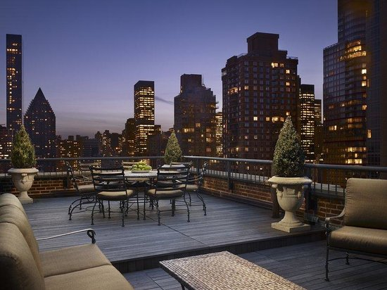 AKA Sutton Place : AKASutton Place Penthouse Terrace