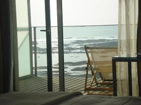 Flor De Sal Hotel:                   View from the room