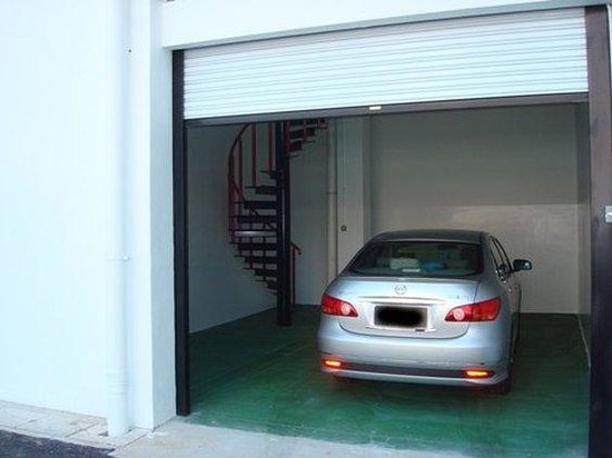 Butterworth, Malasia: Private Garage