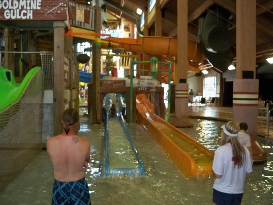 Wilderness Resort:                   Indoor waterpark