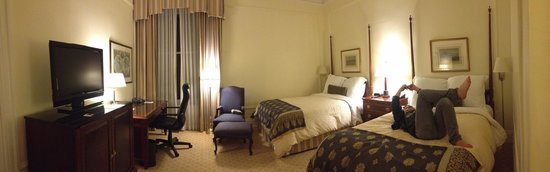 Palace Hotel:                   Deluxe room with two beds