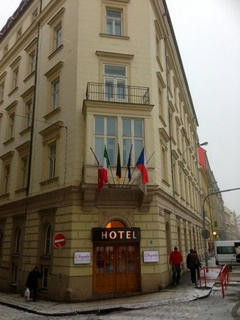 Chopin Hotel Prague City :                   chopin hotel