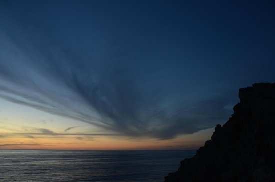 Arriba de la Roca: Twilight over the Pacific