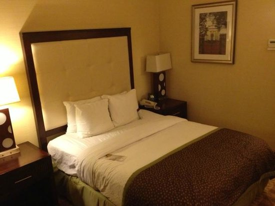 Doubletree Hotel Little Rock: queen bed