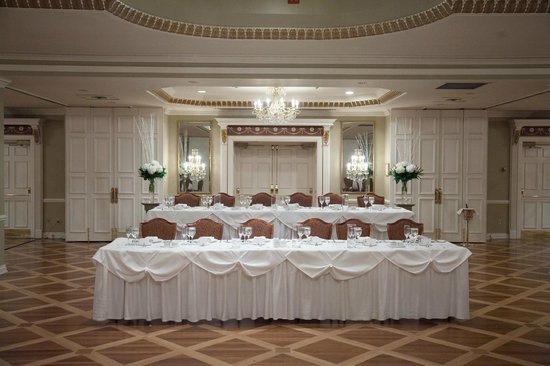 Queen's Landing:                                     Head Table, Grand Georgian Ballroom