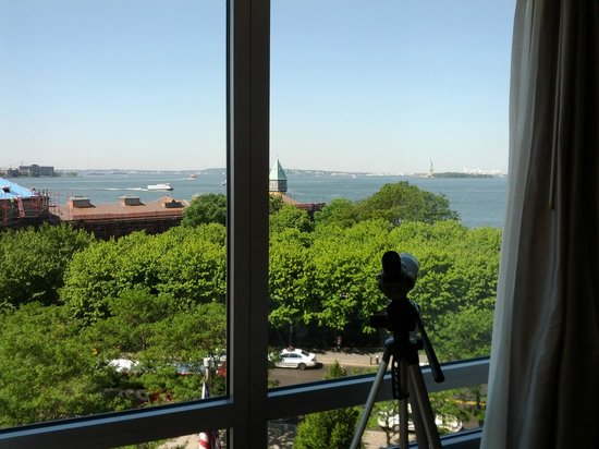 The Ritz-Carlton New York, Battery Park: View from the room