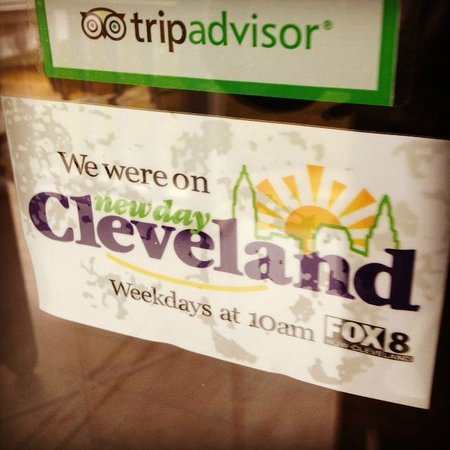 5 Corners Bed & Breakfast: 5 Corners was featured on Fox 8 News' New Day Cleveland