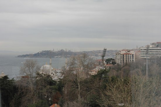 Swissotel The Bosphorus: View from our room